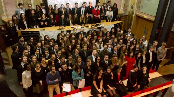 La promotion Sciences Po Aix - 2014 !